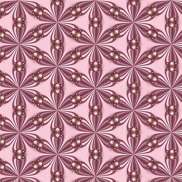 Fractal Lattice in Pink by quartzmonzonite