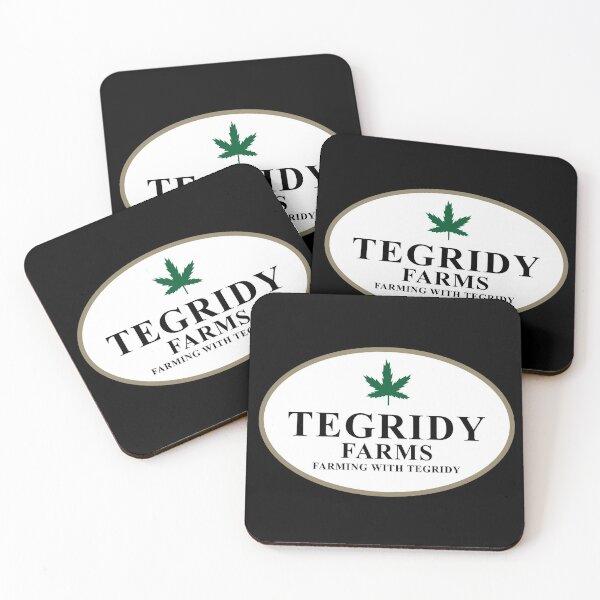 Tegridy Farms Coasters (Set of 4)