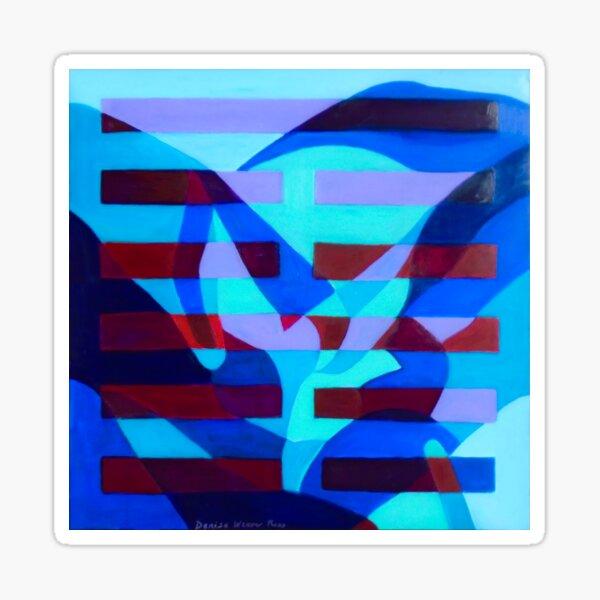Hexagram 52: Gen (Still Point) Sticker