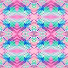 Dragonflies Pink Patterns by Vitta