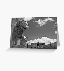 Mighty Lion Che Greeting Card