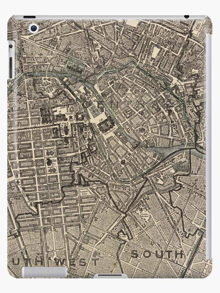 Vintage Karte von Berlin Deutschland (1901) von BravuraMedia