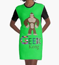 Geek Kong Graphic T-Shirt Dress