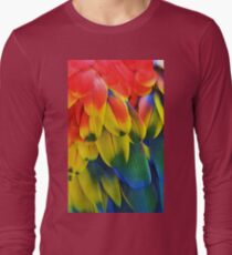 Parrot Feathers Long Sleeve T-Shirt