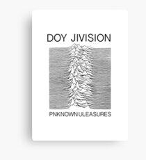 I give Jivision Canvas Print
