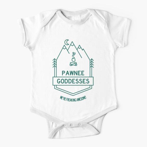 Pawnee Goddesses - We're Freaking Awesome! Short Sleeve Baby One-Piece