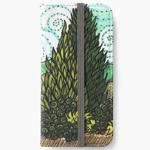 VAN GOGH LANDSCAPE iPhone Wallet