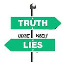 Truth-Lies-Choose-Wisely by kj dePace'