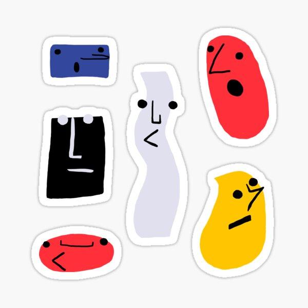 Stupid Shapes Sticker