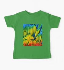 Parrot Feathers Baby Tee