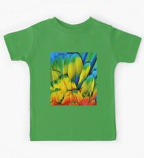 Parrot Feathers Kids Tee