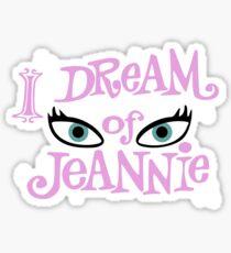 I Dream Of Jeannie Shirt Sticker