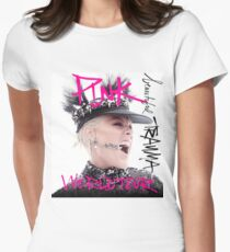 BEAUTIFUL PINK COLOR WORLD TOUR 9 Women's Fitted T-Shirt