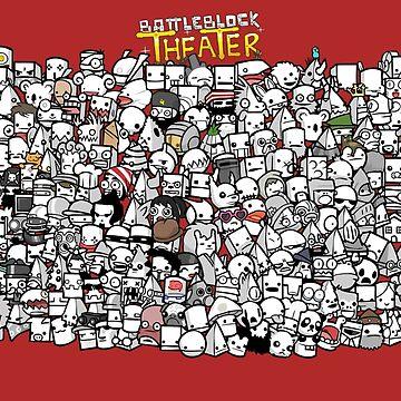 Battleblock Theater - EVERY SINGLE FRIEND by iWumbo