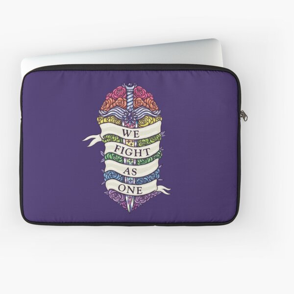 WE FIGHT AS ONE Laptop Sleeve