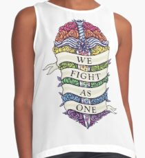 WE FIGHT AS ONE Sleeveless Top