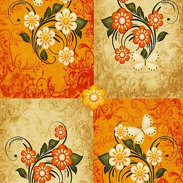 Patterns of Flowers by LoneAngel