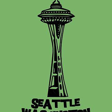 Seattle, Washington's Space Needle by gorff