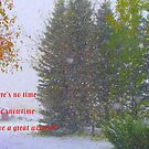 No Time Like Snowtime...card by MaeBelle