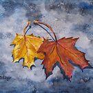 Fall Leaves by Pamela Burger