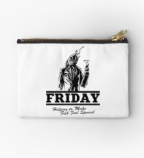 Friday Means Fish Special! Studio Pouch
