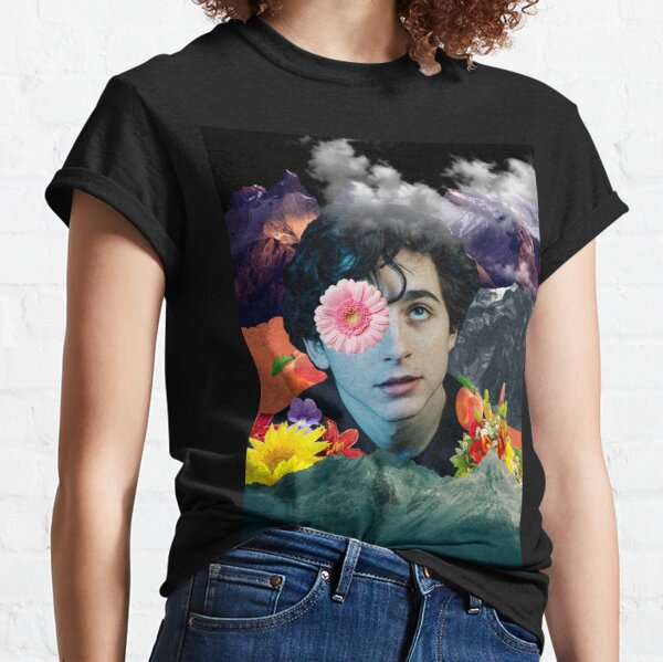 Timothee Chalamet Collage Classic T-Shirt