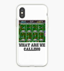 Tecmo Super Bowl Playcalling iPhone Case