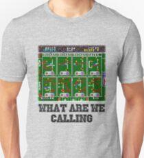 Tecmo Super Bowl Playcalling Unisex T-Shirt