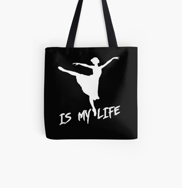 dancing is my life All Over Print Tote Bag