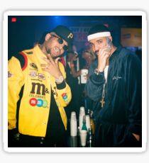 Drake & Chris Brown  Sticker