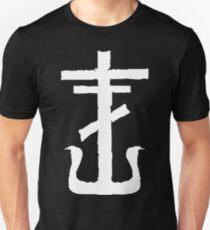 Frank Iero Cross Emblem Slim Fit T-Shirt