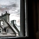 Rooftops and Chimneys by Valerie Rosen