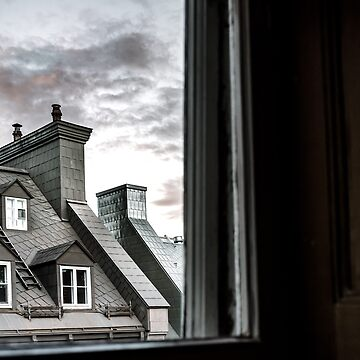 Rooftops and Chimneys by bareri