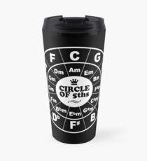Circle of Fifths dark Travel Mug