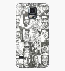 Blues Musicians Collection Print Case/Skin for Samsung Galaxy