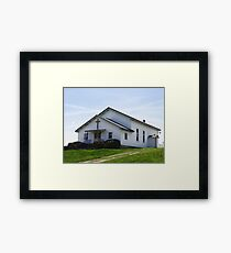 Perfect Church Setting Framed Print