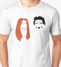 Friends Las Vegas Trip Minimalist Marker Faces Unisex T-Shirt