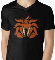 9 Tailed Shinobi Men's V-Neck T-Shirt