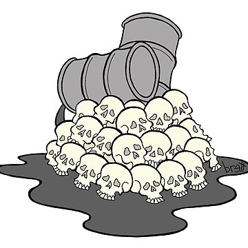 Oil and Skulls by bgilbert