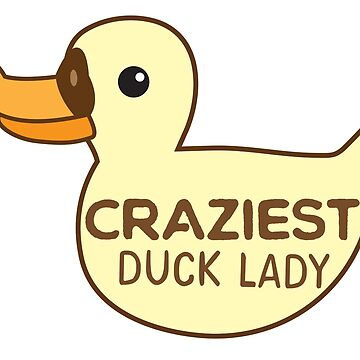 Craziest Duck Lady by jazzydevil