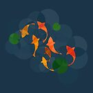 Koi pond from circles by DigitalShards
