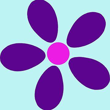 New Style Hippie Flower Daisy Purple Pink by hilda74