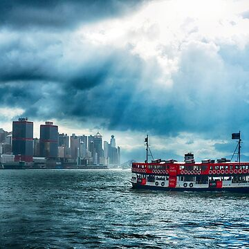 Star Ferry Crossing Hong Kong Harbour by markhiggins