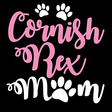 Cornish Rex Cat mom with cute paws by jazzydevil