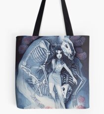 Throw Me To The Wolves (watercolour edition) Tote Bag