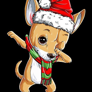 Tupfendes Chihuahua-Sankt-T-Shirt Weihnachten scherzt Jungen-Geschenke von LiqueGifts