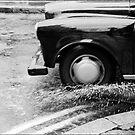 London Cab in the rain, London UK by aldogallery