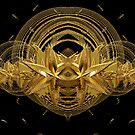 golden shapes by Patriciakb