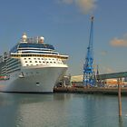 Celebrity Eclipse docked in Southampton by Jonathan Cox