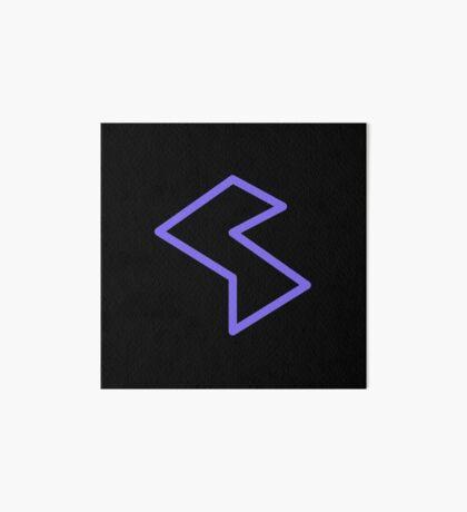 Streamia Lightning Art Board Print